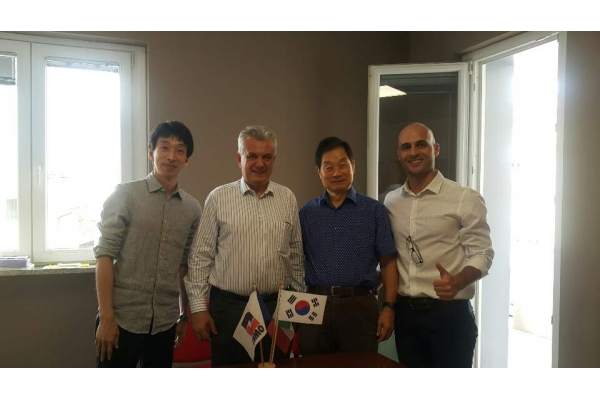 South Korea, the partnership with KMT-Adams Corporation has kicked off