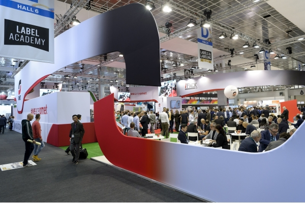 OMET enchants at Labelexpo Europe 2019