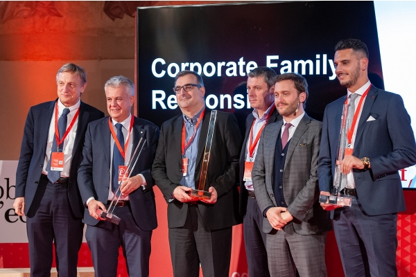 Corporate Family Responsibility, OMET awarded in Florence