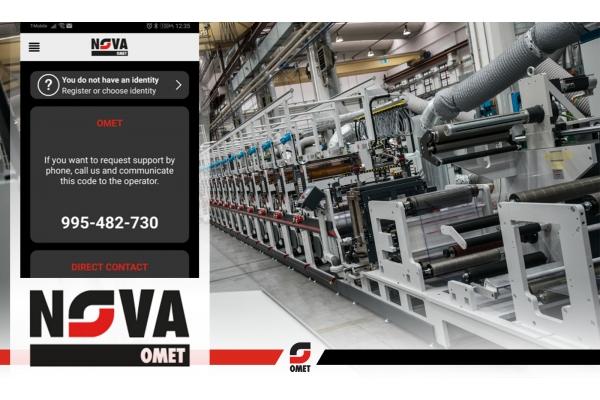 OMET presents NOVA: a revolutionary App for remote service