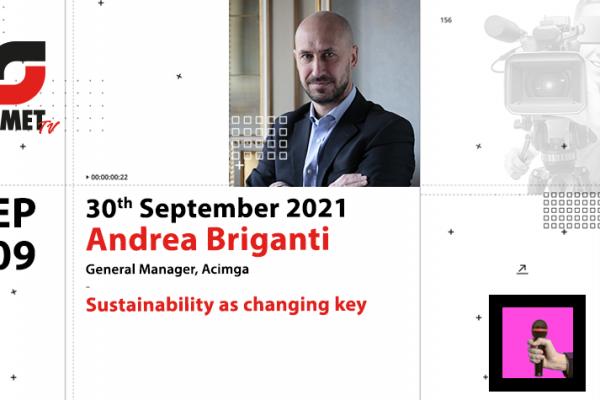 OMET TV presents Andrea Briganti, General Manager of Acimga